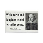 Shakespeare 9 Rectangle Magnet (100 pack)