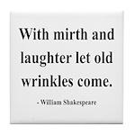 Shakespeare 9 Tile Coaster