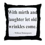 Shakespeare 9 Throw Pillow