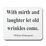 Shakespeare 9 Mousepad