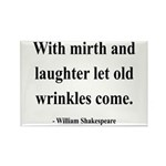 Shakespeare 9 Rectangle Magnet