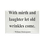 Shakespeare 9 Rectangle Magnet (10 pack)