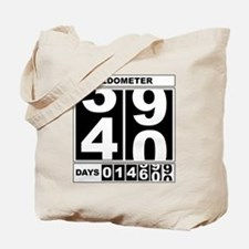 40th Birthday Oldometer Tote Bag