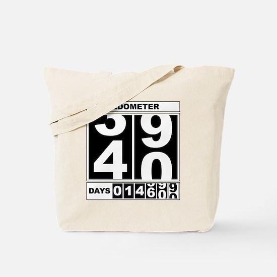 40th Birthday Oldometer Tote Bag
