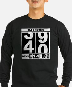 40th Birthday Oldometer T