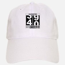 40th Birthday Oldometer Baseball Baseball Cap