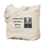 Shakespeare 10 Tote Bag
