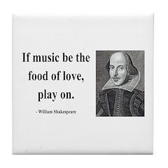 Shakespeare 10 Tile Coaster