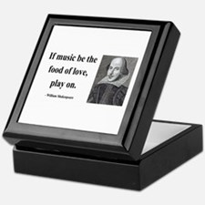 Shakespeare 10 Keepsake Box