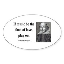 Shakespeare 10 Oval Decal