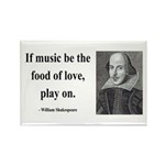 Shakespeare 10 Rectangle Magnet (100 pack)
