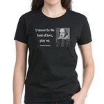 Shakespeare 10 Women's Dark T-Shirt