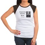 Shakespeare 10 Women's Cap Sleeve T-Shirt