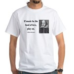 Shakespeare 10 White T-Shirt