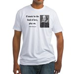 Shakespeare 10 Fitted T-Shirt