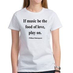 Shakespeare 10 Women's T-Shirt