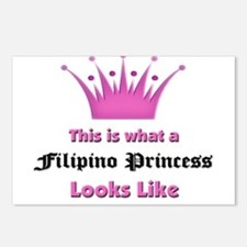 This is what an Filipino Princess Looks Like Postc