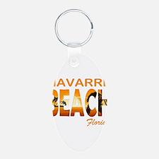 Florida - Navarre Beach Keychains
