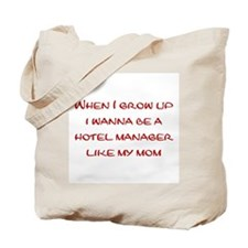 Hotel Manager Tote Bag