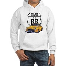 Illinois Route 66 Hoodie