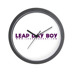 Leap Day Boy Wall Clock