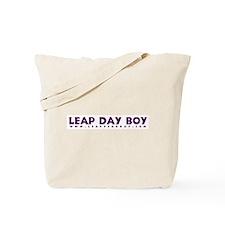Leap Day Boy Tote Bag