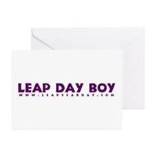 Leap Day Boy Greeting Cards (Pk of 10)