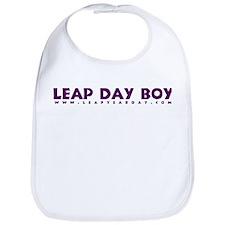 Leap Day Boy Bib