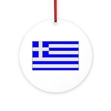 Greek Roots Keepsake (Round)
