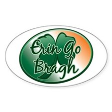 Erin Go Bragh v12 Oval Decal