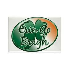 Erin Go Bragh v12 Rectangle Magnet