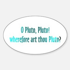 Pluto Isn't a Planet Sticker for Astronomy Nerds