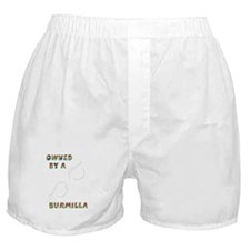 Owned by a Burmilla Boxer Shorts