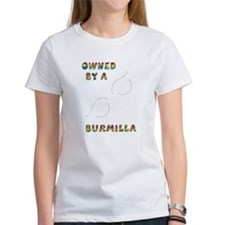 Owned by a Burmilla Tee