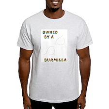 Owned by a Burmilla Ash Grey T-Shirt
