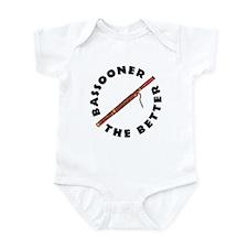 Bassooner (circular) Infant Bodysuit