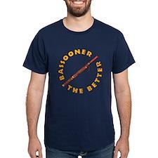 Bassooner (circular) T-Shirt