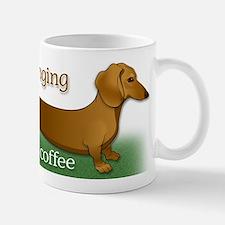 I'm longing for my coffee Small Small Mug