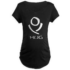 Huglogowhite Maternity T-Shirt