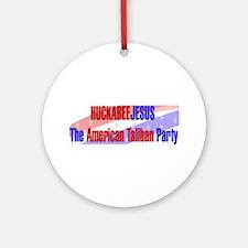 Huckabee Jesus Humor Ornament (Round)