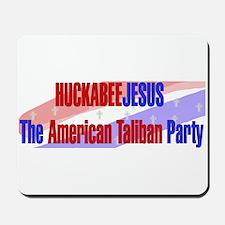 Huckabee Jesus Humor Mousepad