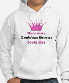 This is what an Cambodian Princess Looks Like Hood