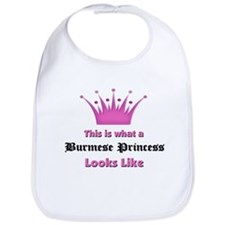 This is what an Burmese Princess Looks Like Bib