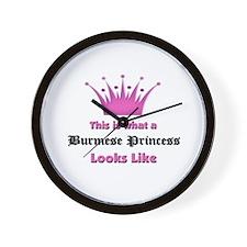 This is what an Burmese Princess Looks Like Wall C