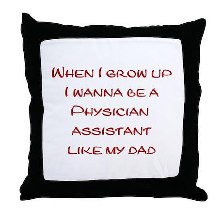 PA Throw Pillow