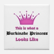 This is what an Burkinabe Princess Looks Like Tile
