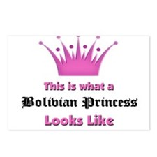 This is what an Bolivian Princess Looks Like Postc