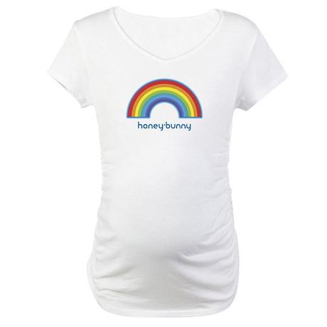 honey-bunny (rainbow) Maternity T-Shirt