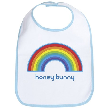 honey-bunny (rainbow) Bib