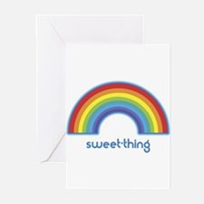 sweet-thing (rainbow) Greeting Cards (Pk of 10)